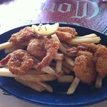 fried shrimp & chips