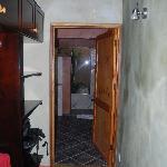 vestidor y acceso al baño