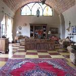 The beautiful Sala Suite