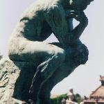 copy of the 'thinker' by Rodin
