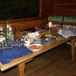 Part of breakfast buffet at Panorama Berggasthof Hotel, Garmisch-Partenkirchen, Germany