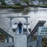 Dock - low tide