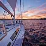 Sunset Sailing Charleston