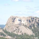 View of Mt. Rushmore from the Black Hills - Norbeck Overlook