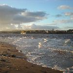 View of Berwick-Upon-Tweed from beach (15mins walk from Guesthouse)