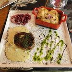 Bife with a wonderful Foie Gras souce
