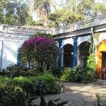 Entrance to Hacienda Pinsaqui