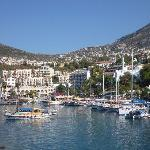 Kalkan from the harbour