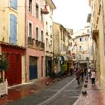 atmospheric old town of Carpentras