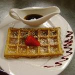 Belgian Waffle for the Brunch !