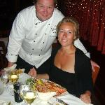 The Chef and the Lobster!