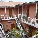 Patio de l'hôtel Posada Nueva Espana