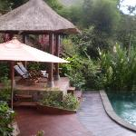Private pool and surrounds