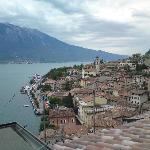 View of Limone from balcony