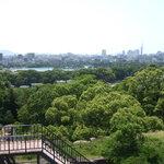 Ausblick über Fukuoka