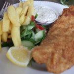Well presented, but fish didn't taste like haddock