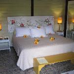 Room when arriving, lovely