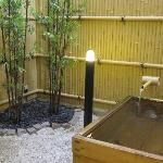 Outdoor Cypress Bath