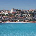 Infinity Swimming Pool with views over Porto