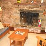 Living area of Summer Kitchen Cottage