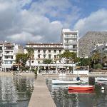 Hotel Miramar from the Jetty