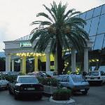 Plaza main entrance