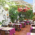 Our Lovely Andaluz Patio with Water Fountain