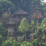 Temple across the valley from Ubud Hanging Gardens