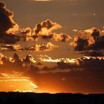 Abendhimmel in Swakopmund