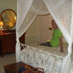 Our canopy bed