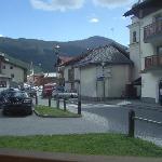 foto dall'hotel verso il paese