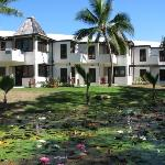 Sheraton Villas - external view with gardens