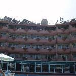 achterkant hotel