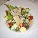 """Salade césar-Au restaurant """"Insensé"""""""