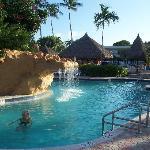 Holiday Inn - super waterfall pool
