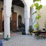 Courtyard, Riad R´Mila