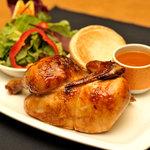 Half Chicken BBQ Dinner The Q