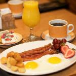 Rise and Shine Egg and Bacon Breakfast The Q