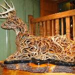 reindeer made from twigs