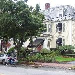 the coach house inn from lafayette street