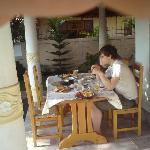 Breakfast at Serendib