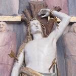 detail of a side altar