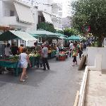 Market day in Elounda