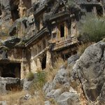 Rock tombs in Myra
