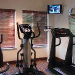 On premises fitness center