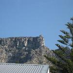 view of table mountain from veranda