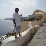 Oia pathway leading to our house #1