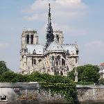 Beautiful view of Notre Dame