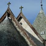 Geschnitzte Dachabschlüsse