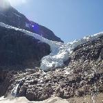 the Angel Glacier